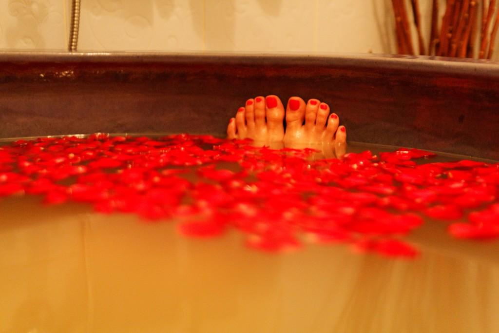 DIY spa at home