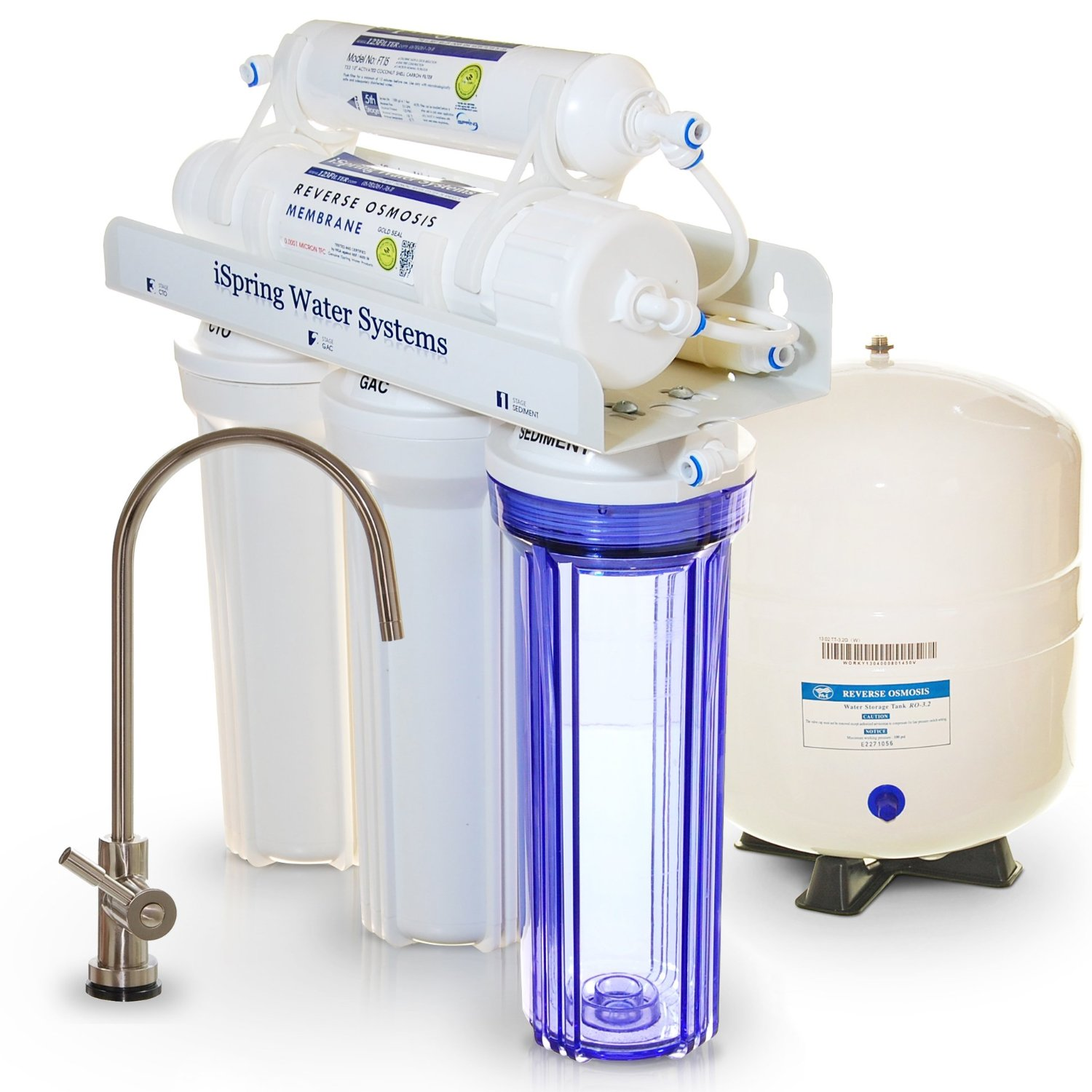 best under sink water filter get rid of fluoride lead chlorine home health living - Undersink Water Filter