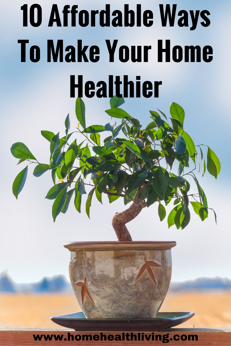 make your home healthier
