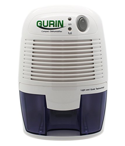The Gurin dehumidifier is a compact and efficient dehumidifier which is  suitable for small bathrooms and spaces. Best Dehumidifier For Bathroom Use  Reviews 2017   Home Health Living