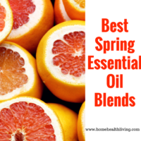 spring essential oil blends