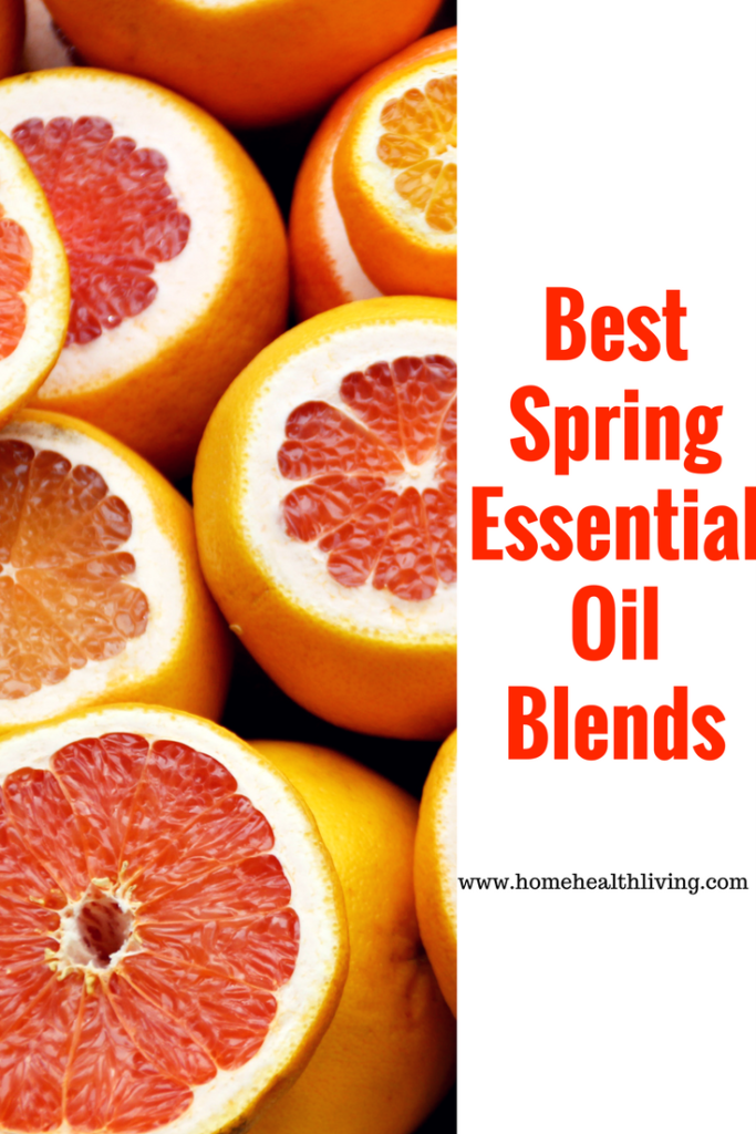 spring essential oil blends