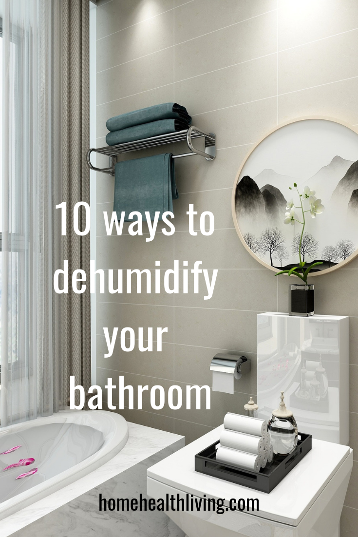 how to dehumidify a bathroom